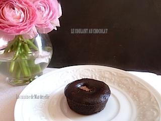 le coulant au chocolat au coeur praliné