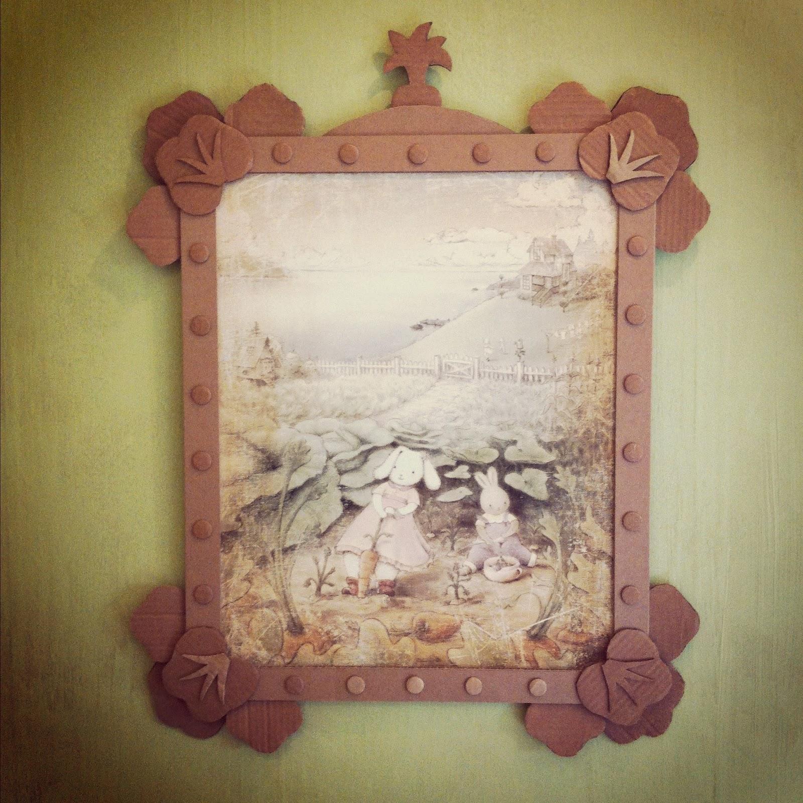 hutch studio: Frames of Cardboard