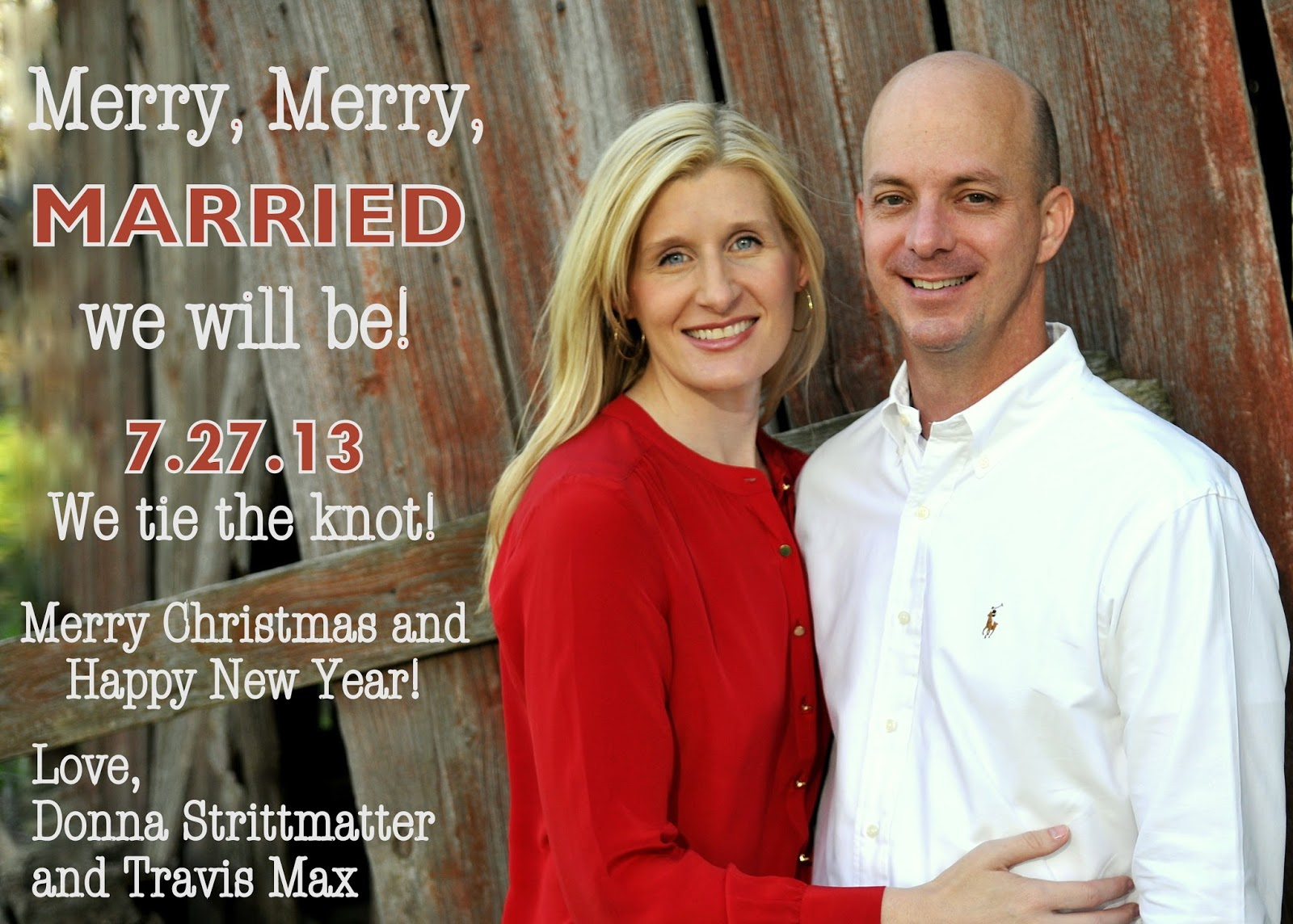 Your Merry Mailbox: A getting MARRIED Christmas