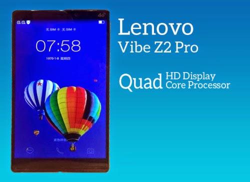 Lenovo K920, Lenovo Vibe Z2 Pro, Quad HD, smartphone camera, Qualcomm Snapdragon, smartphones avanzados nuevos smartphones