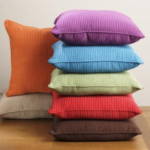 Almofadas decorativas cores