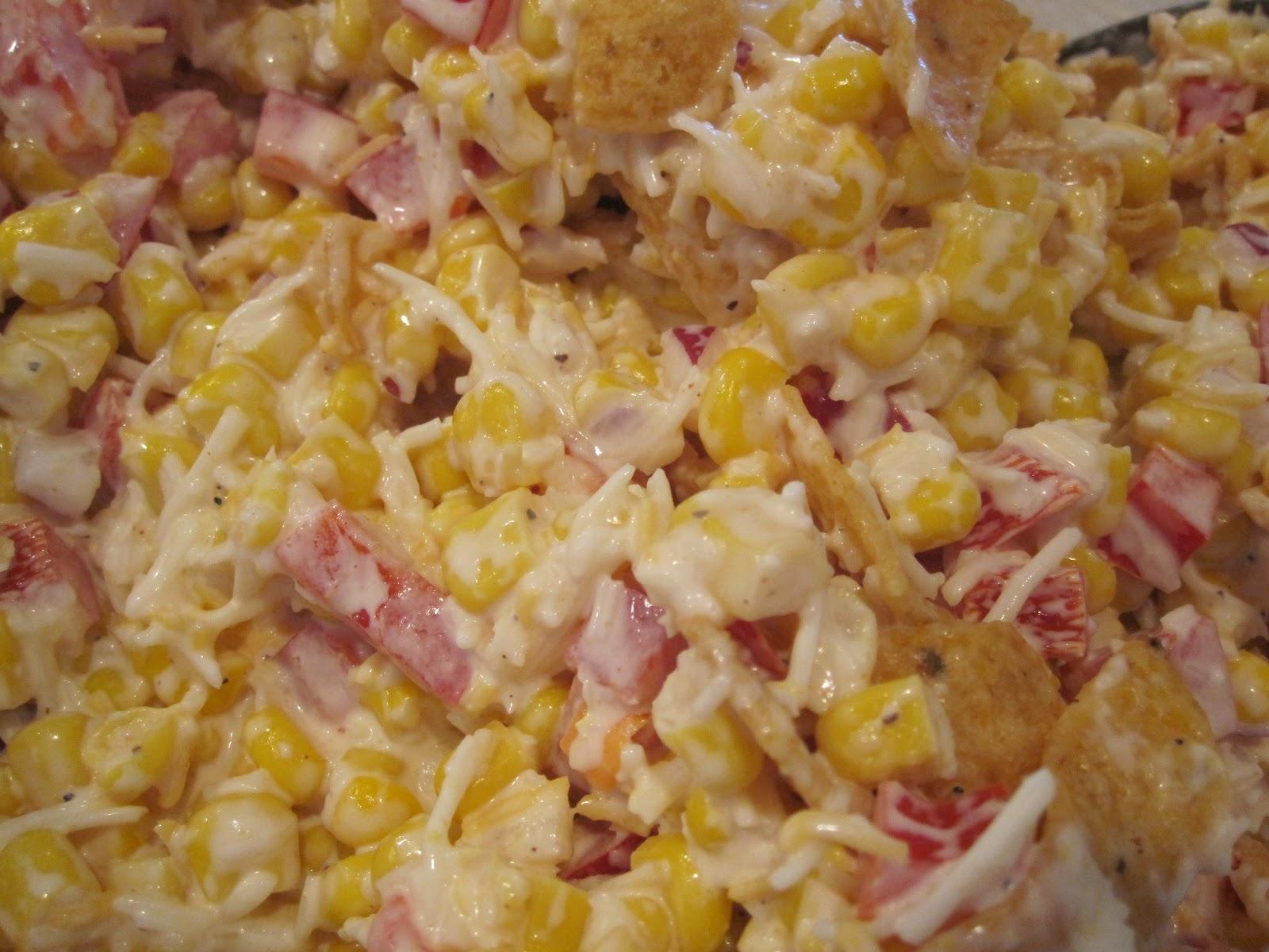 Corn Chip Salad Recipe — Dishmaps