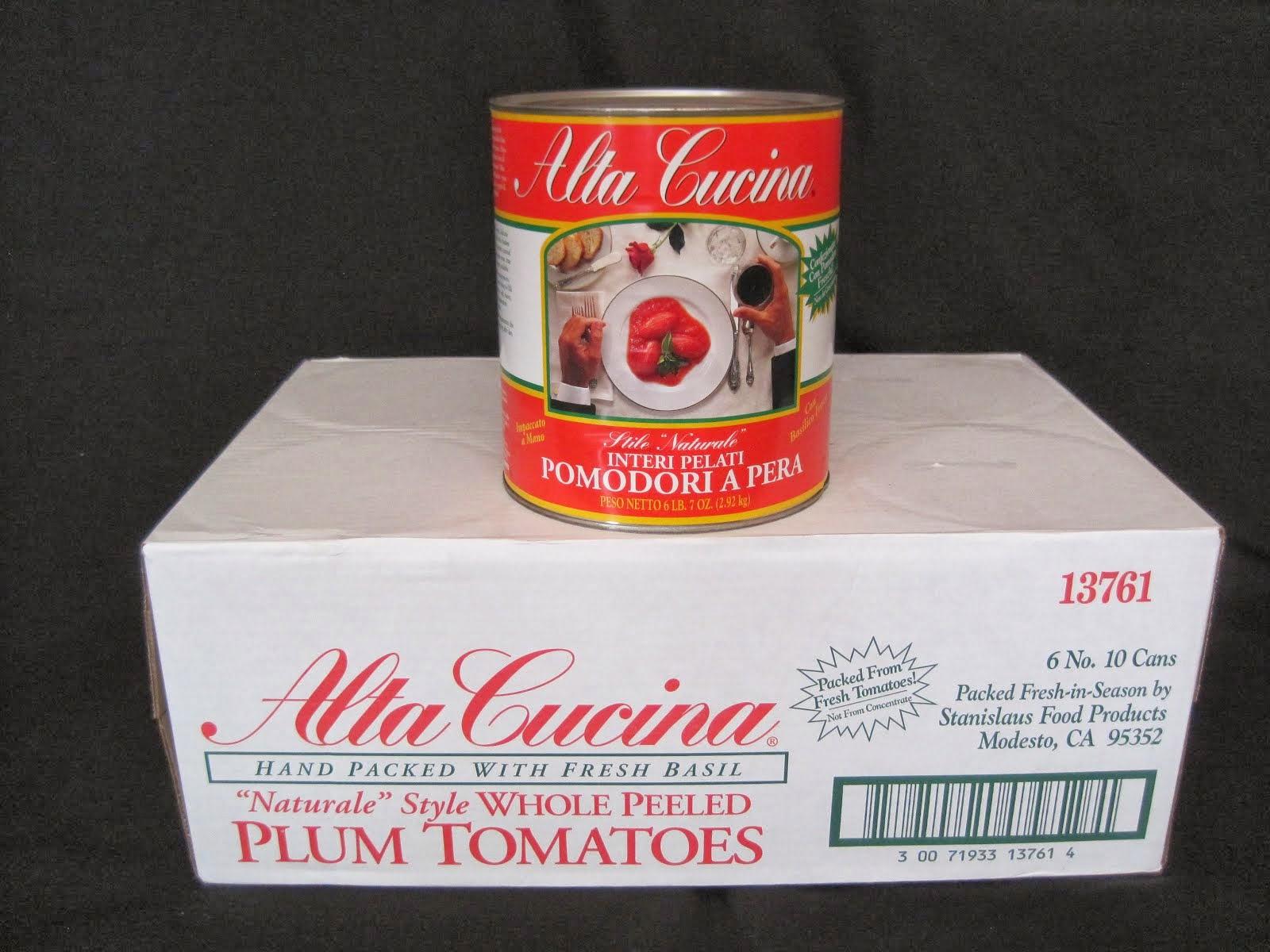 Alta Cucina Whole Tomatoes 6/10 - Item # 76880