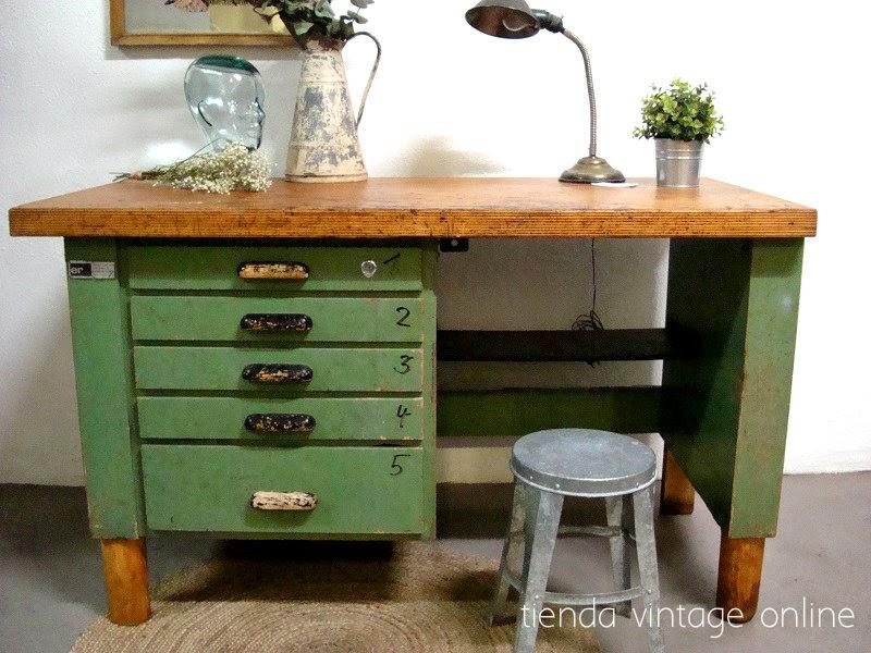 Kp tienda vintage online muebles estilo industrial ref d10 for Muebles estilo industrial online