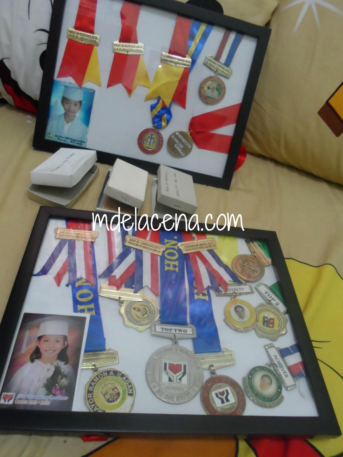 Craft Work: Quick DIY Medal Frame - Story Book Mom