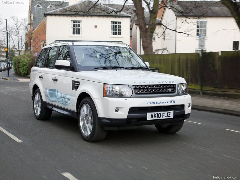2011 Land Rover Range e Concept First Look