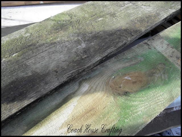 scrapwood trug, garden trug, herb trug