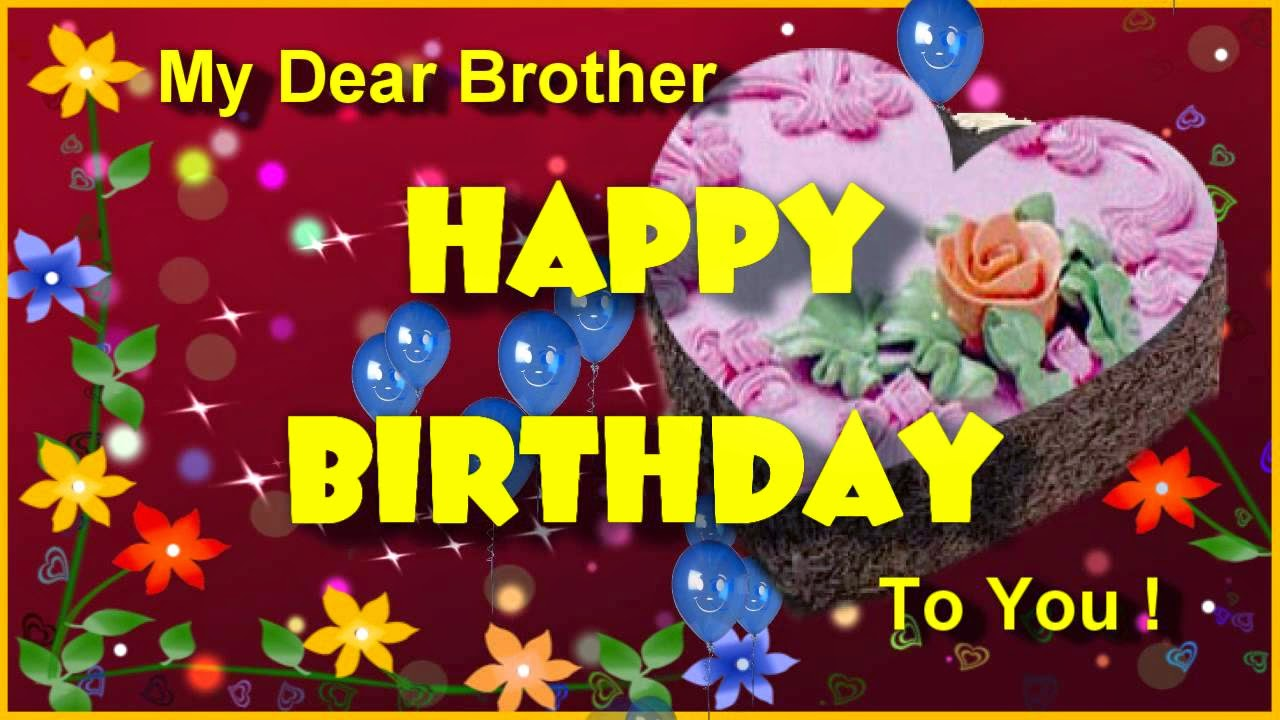 Birthday Wishes For Brother Celebrities And Fashion