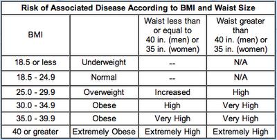 body mass index formula pdf