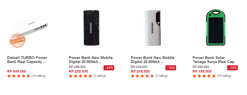 Gambar dan Foto Power Bank