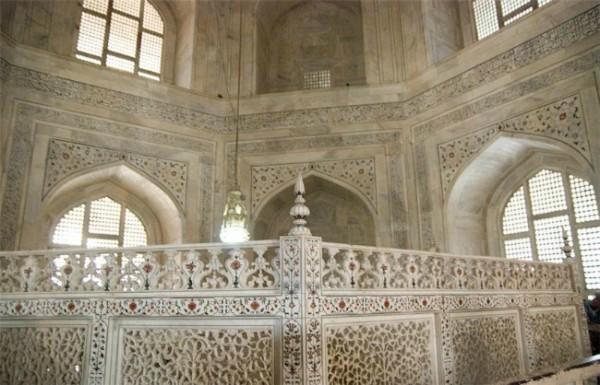 Beautiful photos of taj mahal agra taj mahal agra for Interior taj mahal