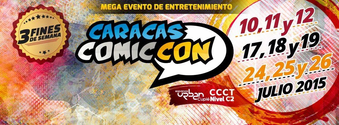 Caracas Comic Con 2015