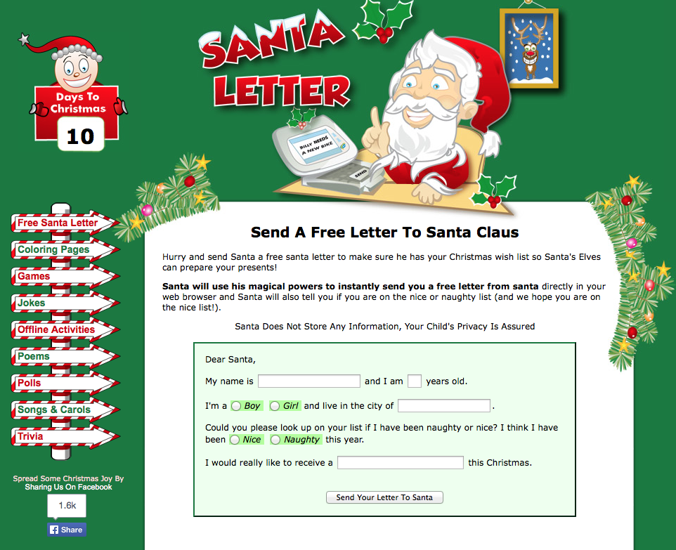 Technology with class a letter to santa then through the magic of santa an instant reply the students were so excited spiritdancerdesigns Image collections
