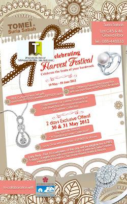 Tomei Harvest Festival Sale