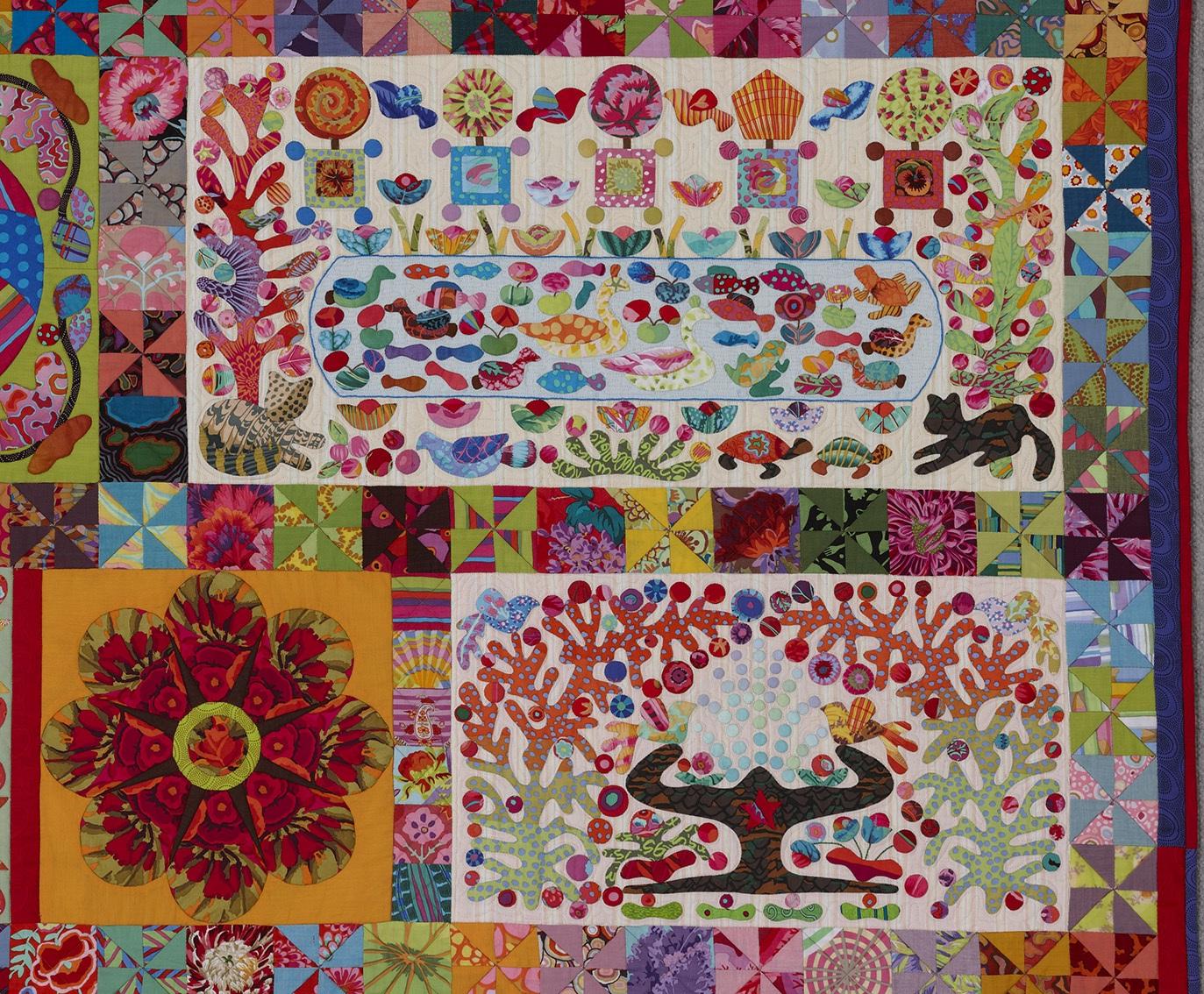 Glorious Applique: Applique tutorials by Kim McLean : kim mclean quilts - Adamdwight.com