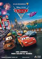 Cartel de la película de Disney Cars 2