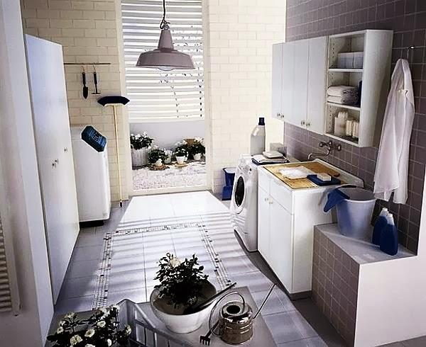 Tips Menciptakan Ruang Cuci Pakaian Lebih Berwarna