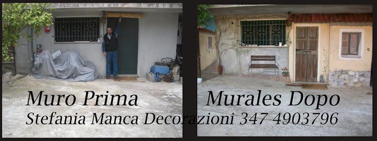 Trompe l 39 oeil murales decorazione pareti camerette bambini - Decori pareti camerette ...