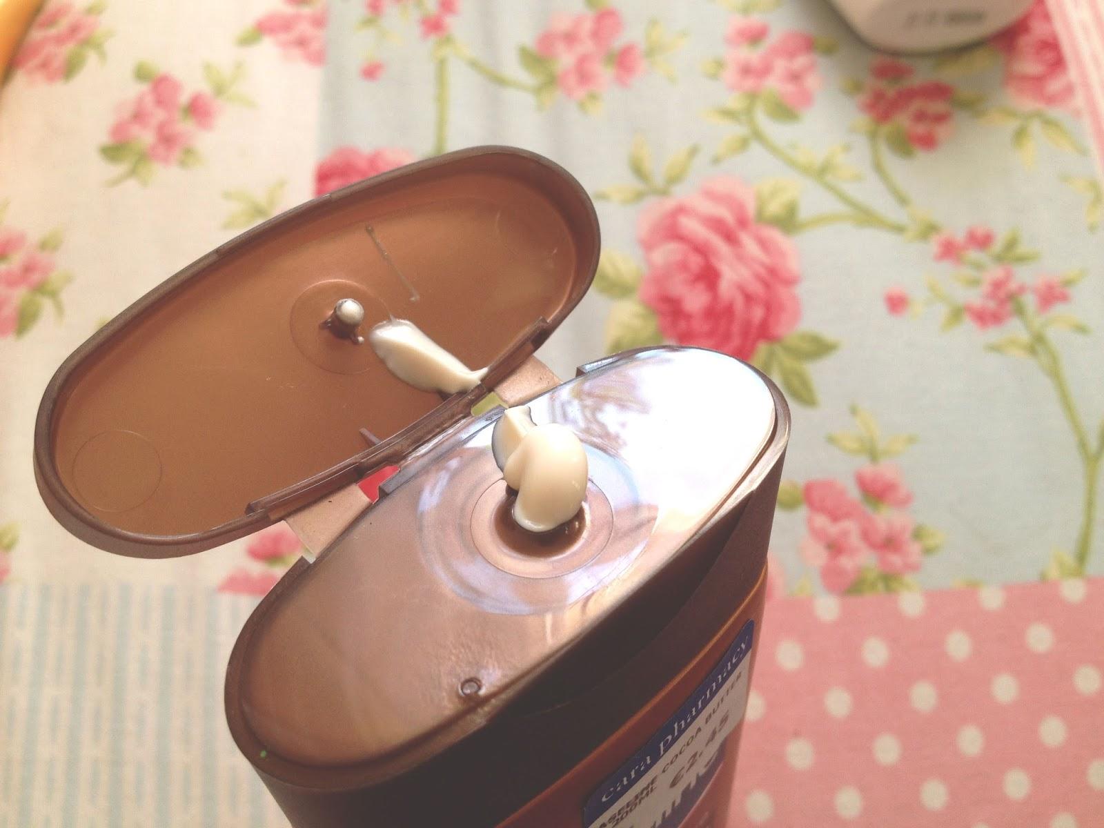 vaseline moisturiser cocoa review