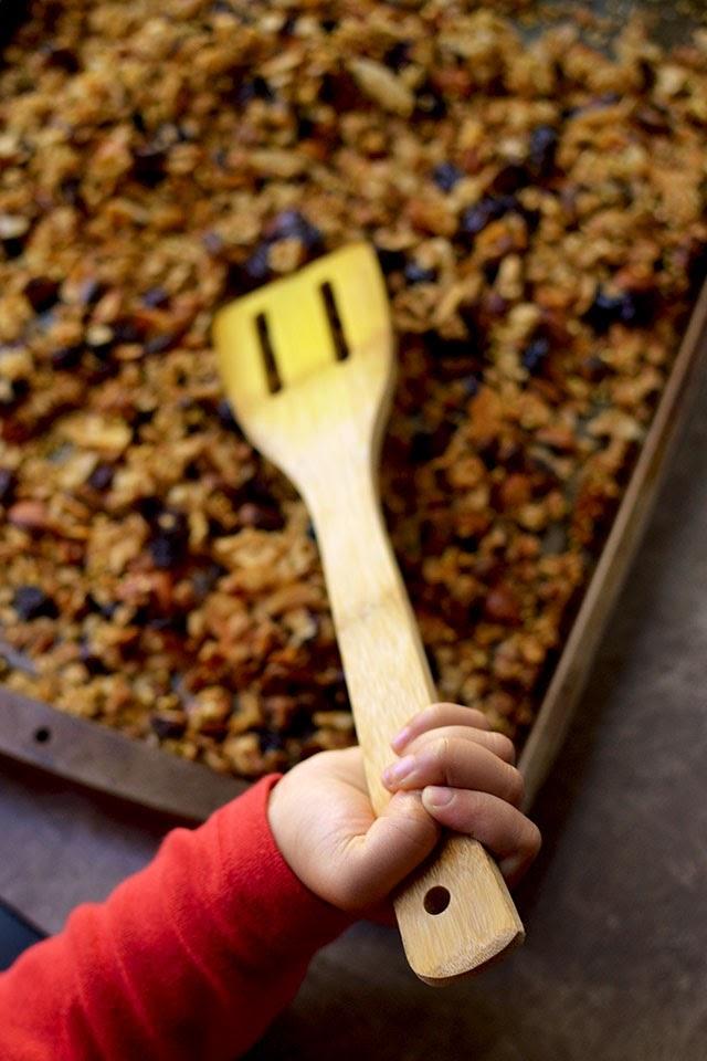 Oats & Millet granola