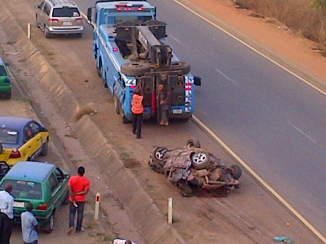 Exclusive photos from the fatal accident in Abuja this morning  02