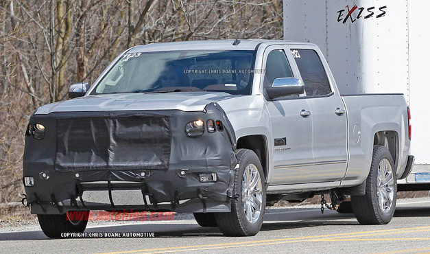 2014 Chevy Silverado High Country Spy Shots