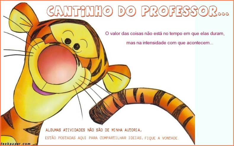 Cantinho do professor