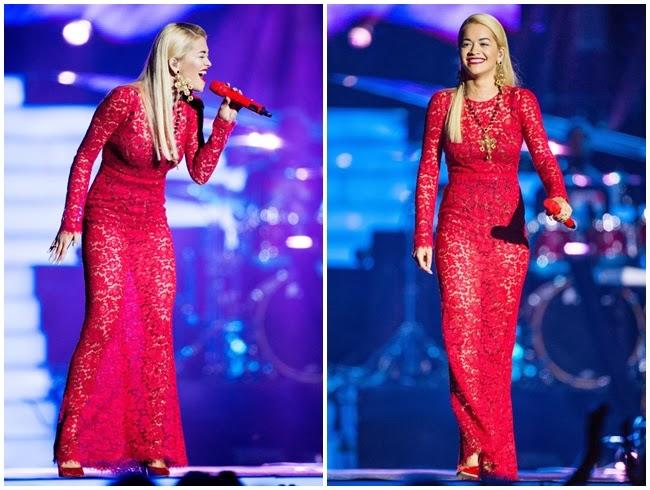 Rita Ora, Stephen Lawrence Memorial concert September 2013