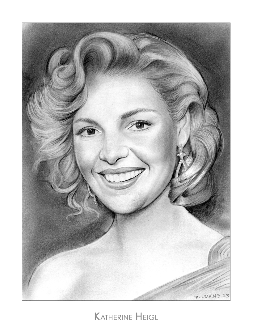 Drawing Lines Grey S Anatomy : Sketch of the day katherine marie heigl