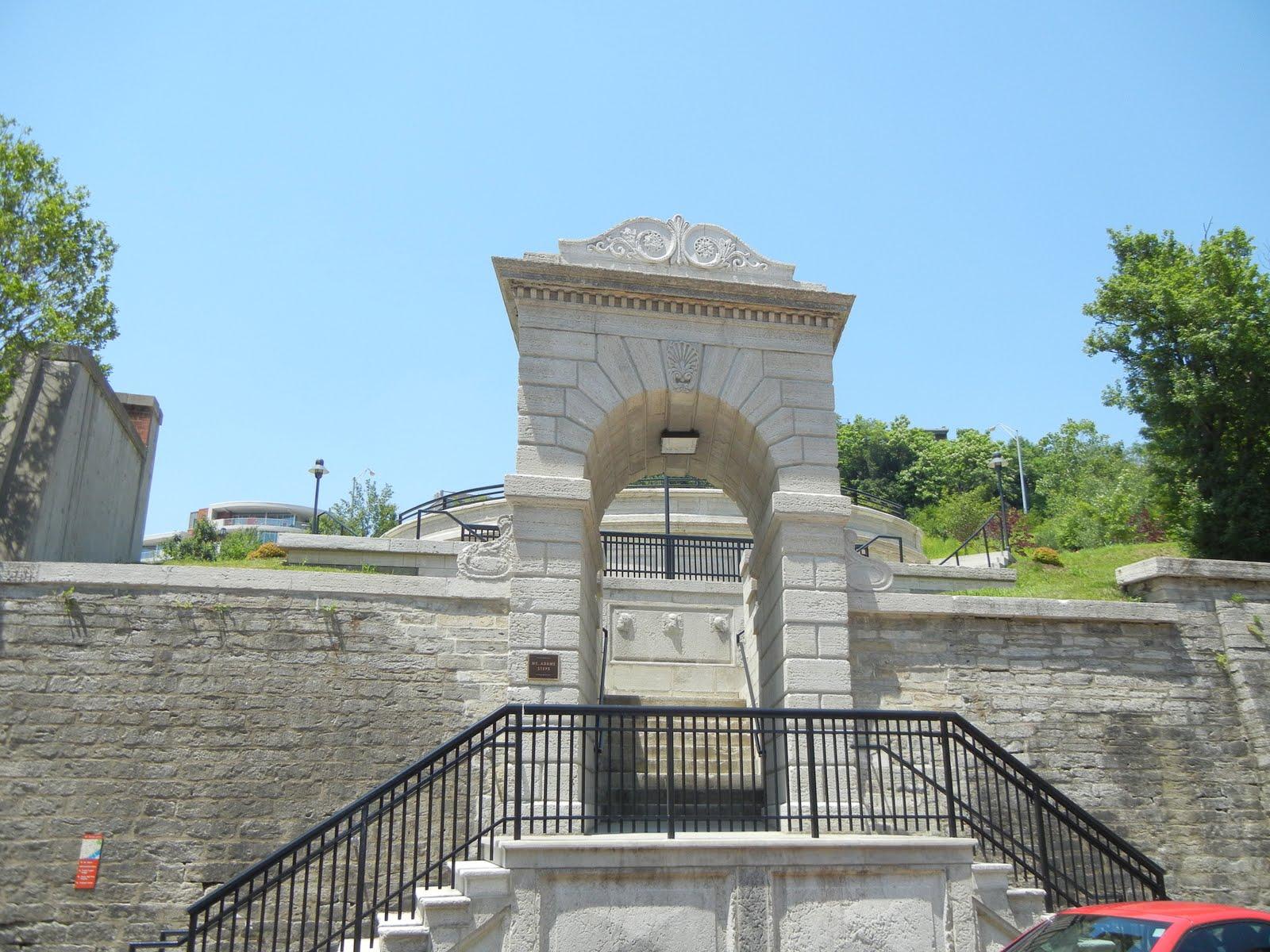 queen city tour  riverview playground entrance