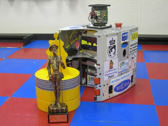 Eurobot 2011 Spain Zamorano EuRobotics Engineering ARC Alcabot 2011 UAH EOHC