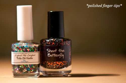 Polka Dot Heaven by Liquid Sky Lacquers & CrowsToes Shoot The Butterfly