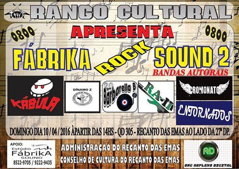 RANGO CULTURAL FABRIKA ROCK SOUND 2