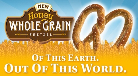 Honey Whole Grain pretzel