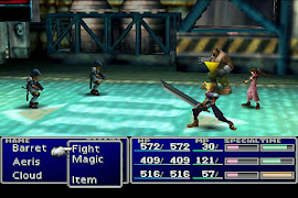 Final Fantasy 7 -- Probably the best J-RPG -- Japanese Style Role Playing Game