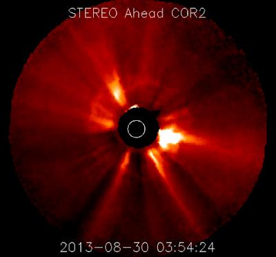 LLAMARADA SOLAR CLASE C8.3, 30 DE AGOSTO 2013