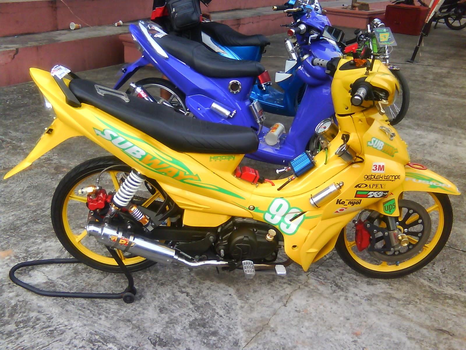 Modification yamaha jupiter z 115 cc