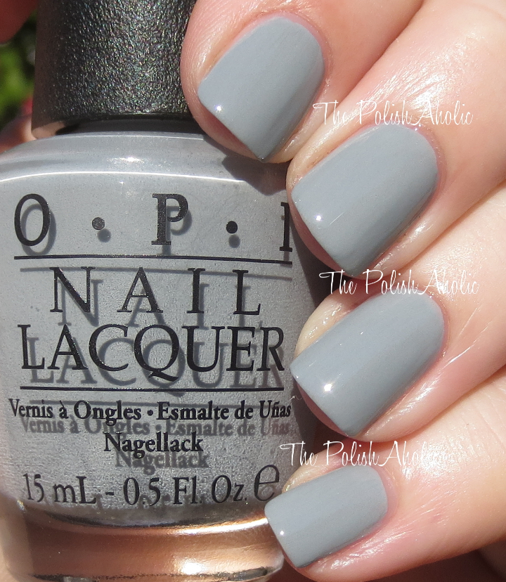 Opi Nail Polish Embrace The Grey