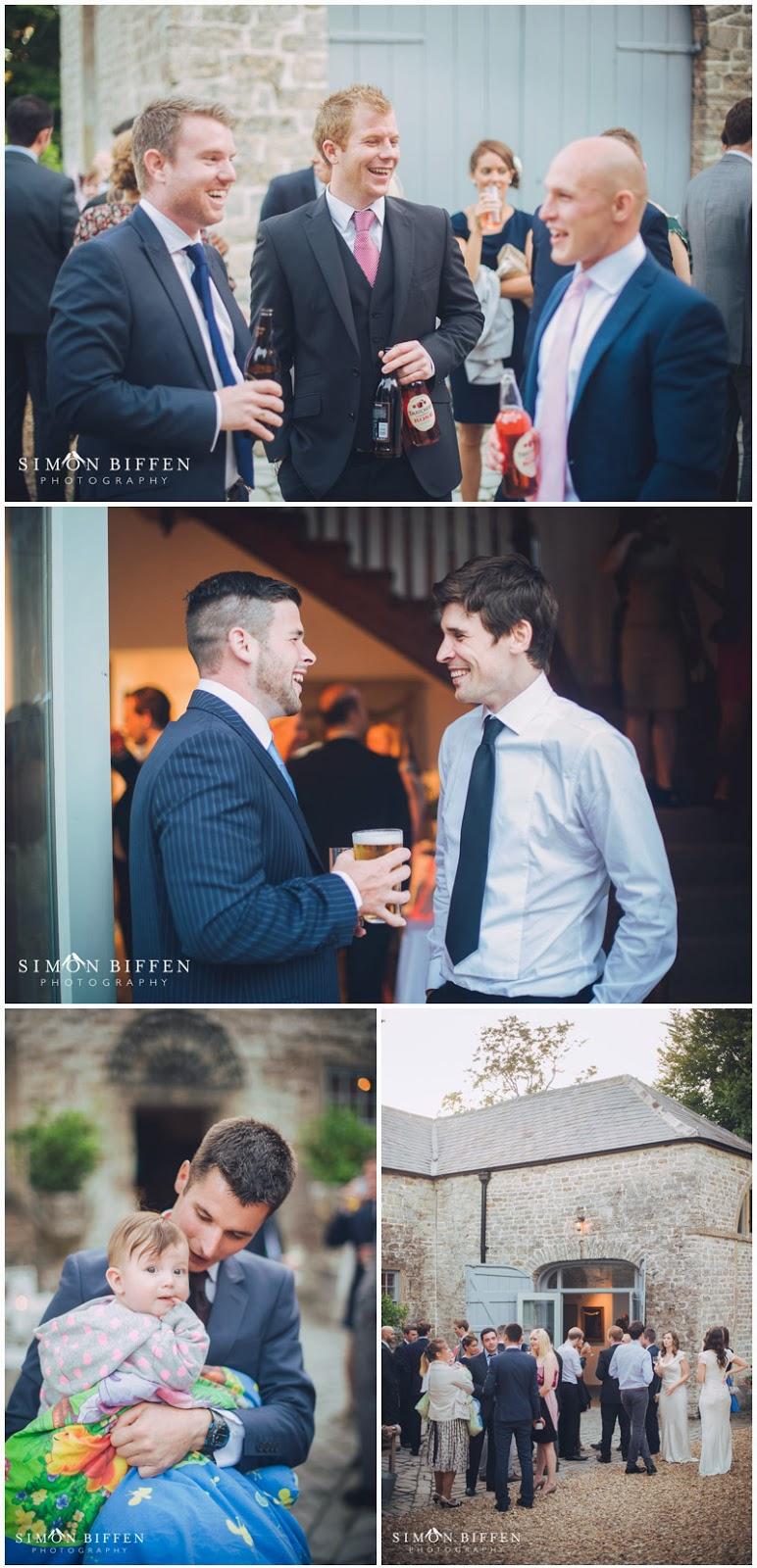 Wedding reception at Pennard House