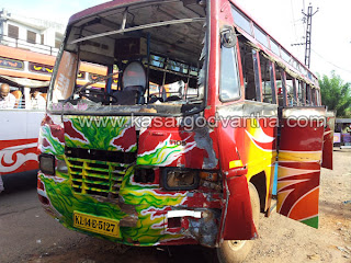 Traveller,Competition, Run away, Injured, Kasaragod, Accident, Bandaduka, Busstand, Women, Kerala