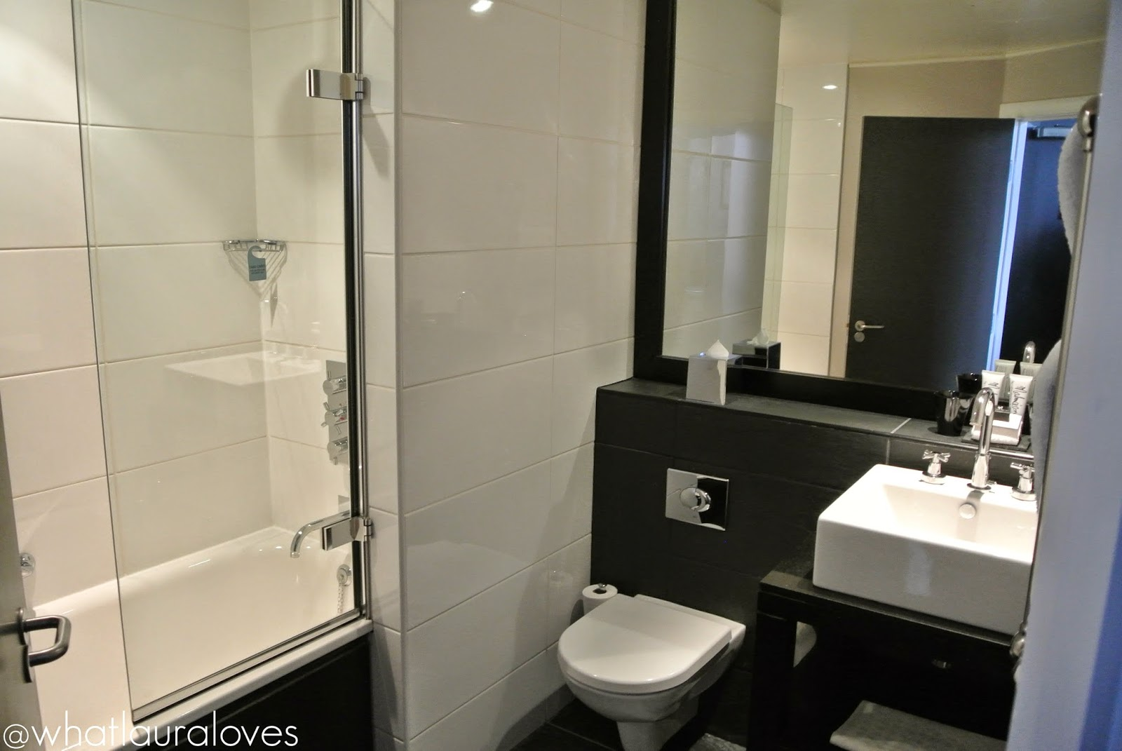 Bathroom at the Malmaison Hotel Newcastle