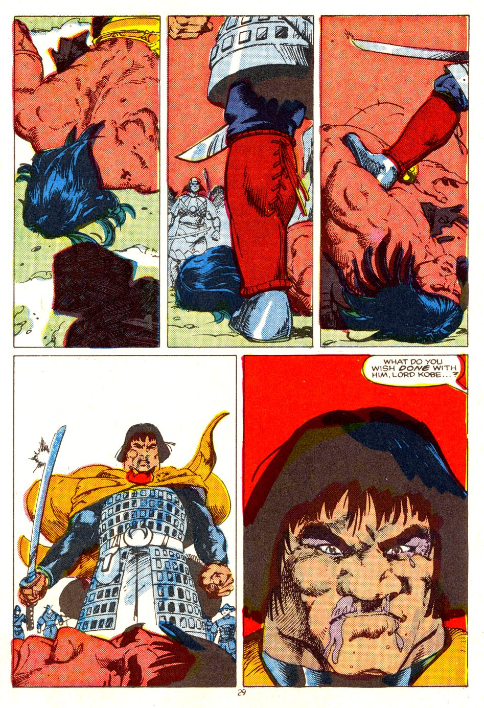 Conan the Barbarian (1970) Issue #207 #219 - English 22