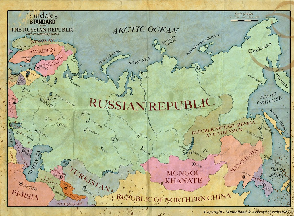 The Russian Republic Fell From 48