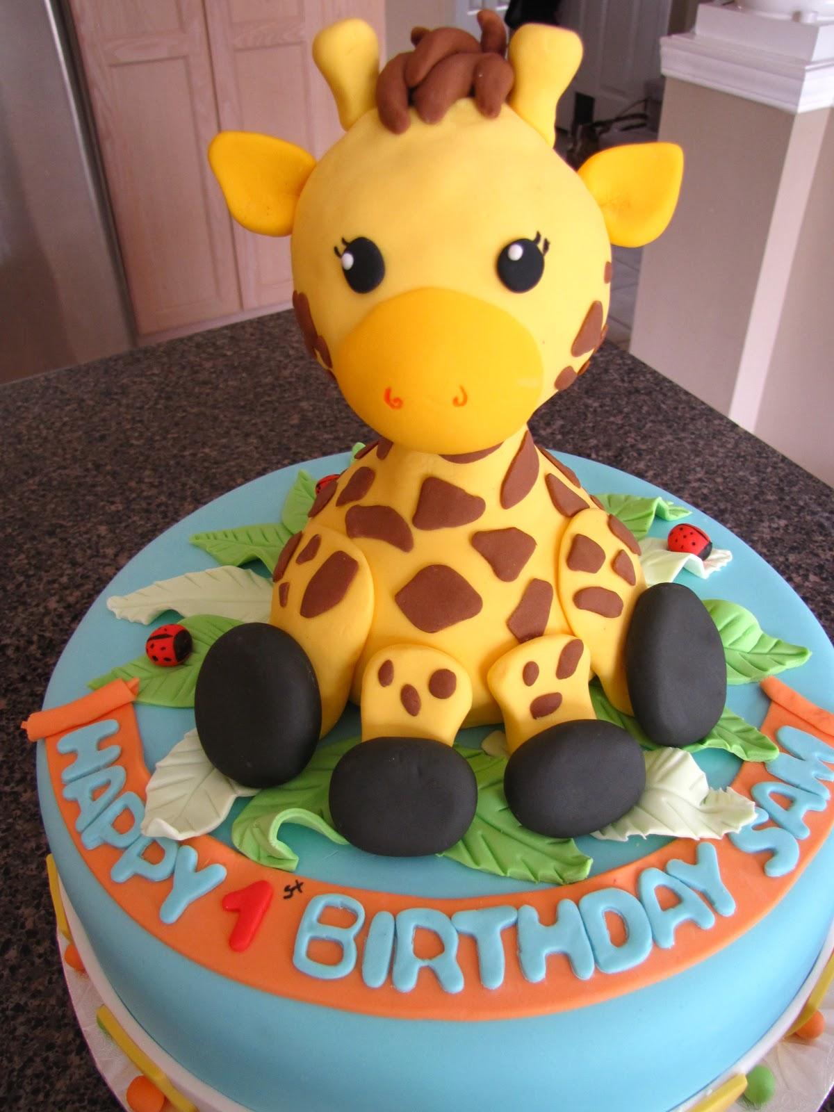 Ann Maries Creative Cakes Giraffe Cake