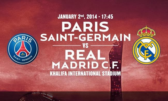 PSG vs Real Madrid Match Friendly in Qatar
