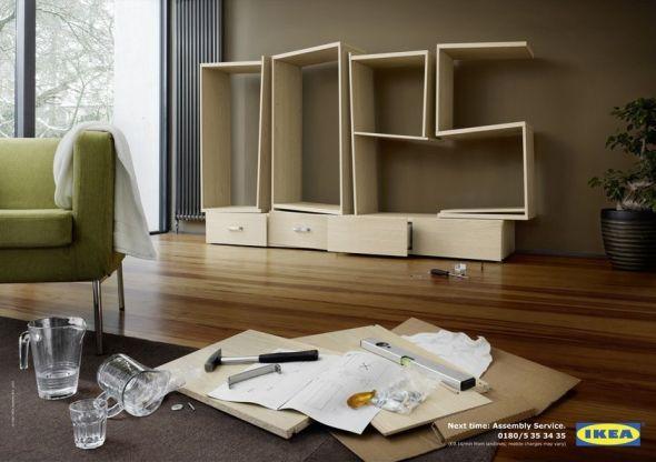 muebles de montaje: