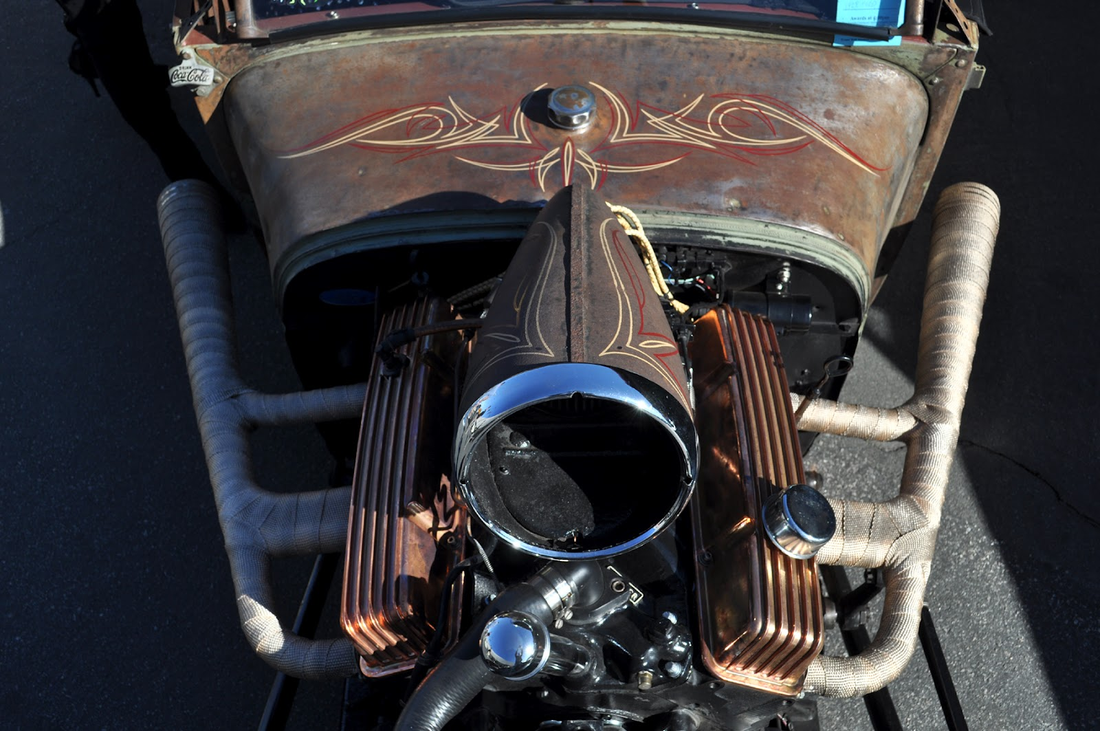 Cool Hot Rod Air Cleaners : Automotive plus ted s rod shop rat at the grand