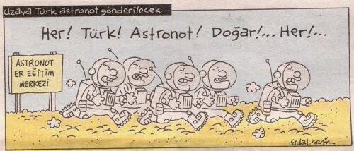astronot-türk-karikatür