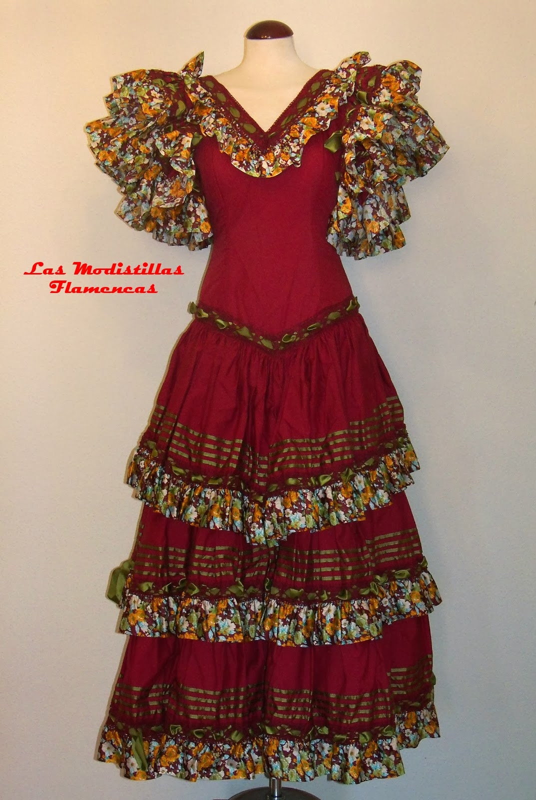 Reformar Un Baño Paso A Paso:Las Modistillas Flamencas: Reformar un traje de sevillana Paso a Paso