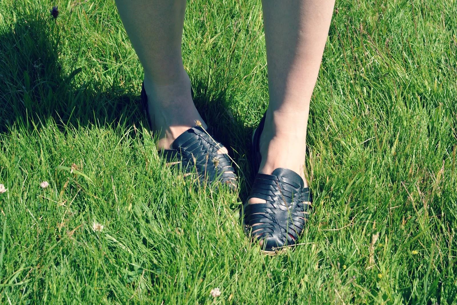 topshop woven shoes